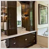 Kitchen cabinets south florida kitchen designs for Bathroom vanity upper cabinets